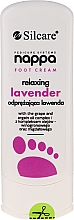 Fragrances, Perfumes, Cosmetics Relaxing Lavender Foot Cream - Silcare Nappa Foot Cream Relaxing Lavender