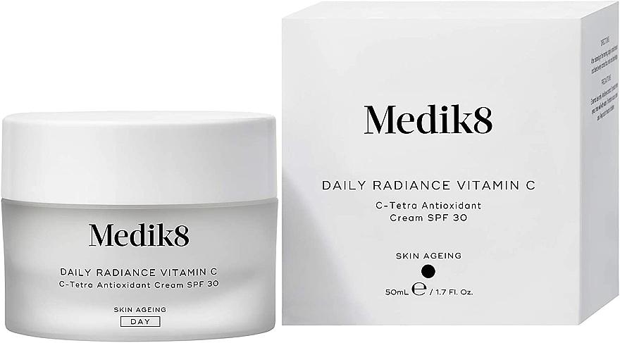 C-Tetra Antioxidant Cream SPF 30 - Medik8 Daily Radiance Vitamin C