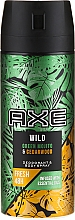 Antiperspirant Spray - Axe Wild Green Mojito & Cedarwood — photo N1
