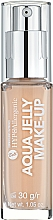 Fragrances, Perfumes, Cosmetics Moisturizing Foundation-Jelly - Bell Hypoallergenic Aqua Jelly Make-Up
