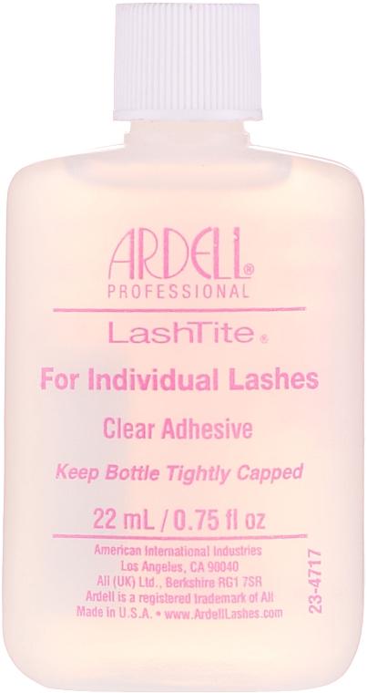 Individual Lashes Transparent Adhesive - Ardell LashTite Adhesive Clear