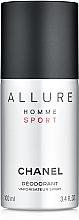 Fragrances, Perfumes, Cosmetics Chanel Allure Homme Sport - Deodorant