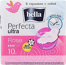 Fragrances, Perfumes, Cosmetics Pantiliners Perfecta Rose Deo Fresh Drai Ultra, 10 pcs - Bella