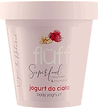 "Fragrances, Perfumes, Cosmetics Body Yogurt ""Raspberry and Almond"" - Fluff Body Yogurt Raspberries and Almonds"