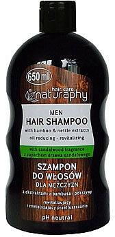Bamboo and Nettle Man Shampoo - Bluxcosmetics Naturaphy Bamboo & Nettle Extracts Man Shampoo