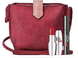 Set - Pupa Vamp! Mascara Explosive & I'm Lipstick (mascara/12ml + lipstick/3.5g + bag) — photo N1