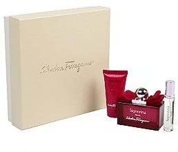 Fragrances, Perfumes, Cosmetics Salvatore Ferragamo Signorina Ribelle - Set (edp/100ml + edp/10ml + b/lot/50ml)