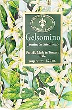 """Fragrances, Perfumes, Cosmetics Natural Soap """"Jasmine"""" - Saponificio Artigianale Fiorentino Masaccio Jasmine Soap"""