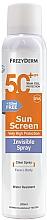 Fragrances, Perfumes, Cosmetics Face and Body Sun Cream - Frezyderm Sun Screen Invisible SPF50+ Spray