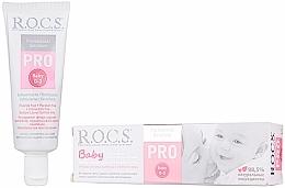 Fragrances, Perfumes, Cosmetics Kids Toothpaste - R.O.C.S. PRO Baby