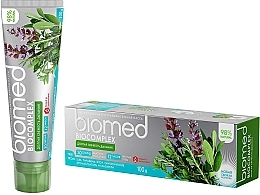 "Fragrances, Perfumes, Cosmetics Refreshing Toothpaste ""Bio Complex"" - Biomed Biocomplex"