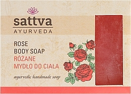 Fragrances, Perfumes, Cosmetics Soap - Sattva Hand Made Soap Rose