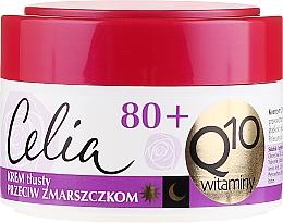 "Fragrances, Perfumes, Cosmetics Rich Anti-Wrinkle Cream ""Vitamin"" - Celia Q10 Face Cream 80+"