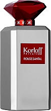 Fragrances, Perfumes, Cosmetics Korloff Paris Rouge Santal - Eau de Toilette