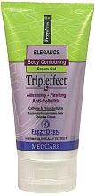 Fragrances, Perfumes, Cosmetics Anti-Cellulite Body Countouring Cream Gel - Frezyderm Elegance Body Countouring Tripleffect Cream Gel