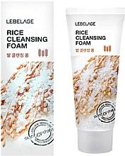 Fragrances, Perfumes, Cosmetics Rice Cleansing Foam - Lebelage Rice Cleansing Foam