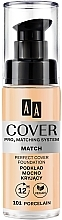 Fragrances, Perfumes, Cosmetics Foundation - AA Cover PRO3 Matching System Match