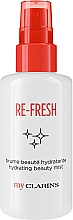 Fragrances, Perfumes, Cosmetics Refreshing Face Mist - Clarins My Clarins Re-Fresh Hydrating Beauty Mist