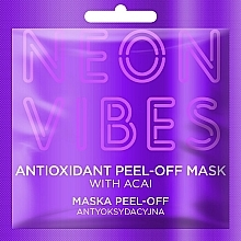 Fragrances, Perfumes, Cosmetics Face Mask - Marion Neon Vibes Antioxidant Peel-off Mask