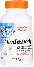 Fragrances, Perfumes, Cosmetics Mind & Body Vitamins for Healthy Joints & Well-Being, capsules - Doctor's Best