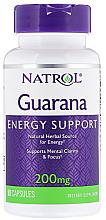 Fragrances, Perfumes, Cosmetics Guarana, 200 mg - Natrol Guarana