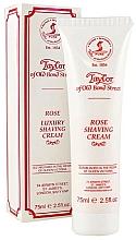 "Fragrances, Perfumes, Cosmetics Shaving Cream ""Rose"" - Taylor of Old Bond Street Rose Luxury Shaving Cream (in tube)"
