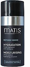 Fragrances, Perfumes, Cosmetics Oil Control Emulsion - Matis Reponse Homme Moisturising Shine Control Hydrating Emulsion