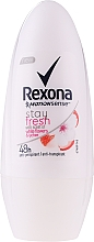 Fragrances, Perfumes, Cosmetics Roll-on Deodorant - Rexona Stay Fresh Deo Roll-On White Flowers
