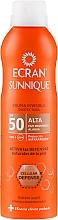 Fragrances, Perfumes, Cosmetics Sunscreen Spray - Ecran Sun Lemonoil Spray Protector Invisible SPF50