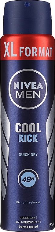Deodorant-Spray - Nivea Men Cool Kick Deo Spray