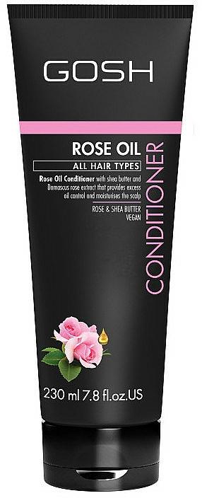 Rose Oil Hair Conditioner - Gosh Rose Oil Conditioner
