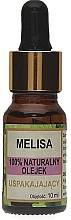 "Fragrances, Perfumes, Cosmetics Natural Oil ""Melisa"" - Biomika Melisa Oil"