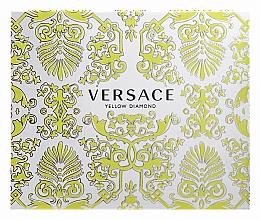 Fragrances, Perfumes, Cosmetics Versace Yellow Diamond - Set (edt/50ml + b/l50ml + sh/g50ml)