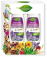 Fragrances, Perfumes, Cosmetics Set - Bione Cosmetics Lavender (s/gel260ml + sh/260ml)
