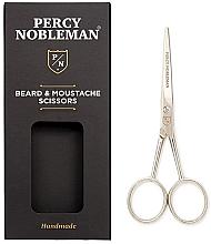 Fragrances, Perfumes, Cosmetics Beard & Mustache Scissors - Percy Nobleman Beard & Moustache Scissors