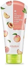 Fragrances, Perfumes, Cosmetics Cleansing Peach Face Foam - Frudia My Orchard Peach Mochi Cleansing Foam