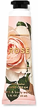 Fragrances, Perfumes, Cosmetics Shea Butter Hand Cream - Bath and Body Works Rose Shea Butter Hand Cream