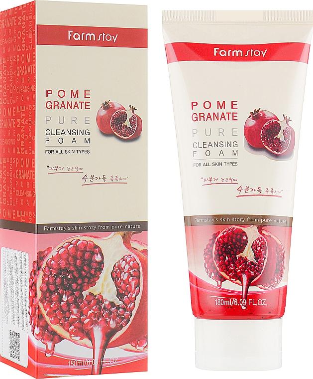 Pomegranate Cleansing Foam - Farmstay Pomegranate Pure Cleansing Foam