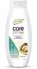 "Fragrances, Perfumes, Cosmetics Shower Cream-Gel ""Argan Oil"" - Luksja Care Pro Oils Creamy Shower Gel"