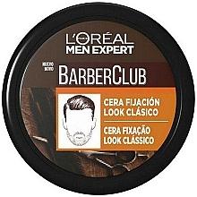 Fragrances, Perfumes, Cosmetics Fixing Wax - L'Oreal Men Expert Barber Club Soft Hold Wax
