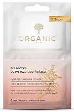 Fragrances, Perfumes, Cosmetics Mask for Oily and Combination Skin - Organic Lab Cleansing And Soothing Mask Cinnamon Apricot And Honey