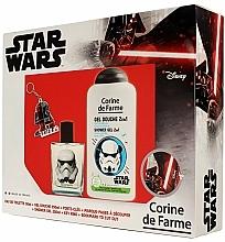 Fragrances, Perfumes, Cosmetics Corine de Farme Star Wars - Set (edt/50ml +sh/gel/250ml + accessories)