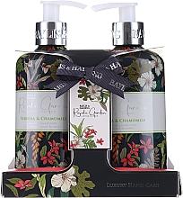 Fragrances, Perfumes, Cosmetics Set - Baylis & Harding Royale Garden (soap/300ml + h/cr/300ml)