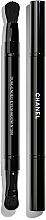 Fragrances, Perfumes, Cosmetics Dual-Ended Eyeshadow Brush - Chanel Retractable Dual-Ended Eyeshadow Brush №200