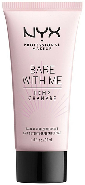 Face Primer - NYX Professional Makeup Bare With Me Hemp Radiant Perfecting Primer