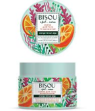 Fragrances, Perfumes, Cosmetics Anti-Cellulite Body Scrub - Bisou I feel... Nature Anti-Cellulite Body Scrub Orange & Brown Algae