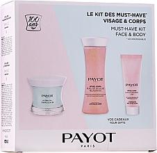 Fragrances, Perfumes, Cosmetics Set - Payot Hydra 24+ Must-Have Kit Face & Body (cr/50ml + sh/oil/125ml + b/lot/25ml)