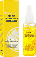Fragrances, Perfumes, Cosmetics Cleansing Facial Lemon Gel Spray - Ayoume Magic Cleansing Gel Mist Lemon