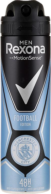 Antiperspirant Spray - Rexona Manchester City Spray