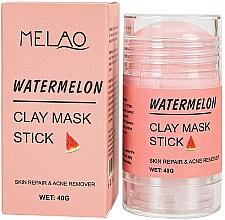 Fragrances, Perfumes, Cosmetics Watermelon Facial Mask Stick - Melao Watermelon Clay Mask Stick